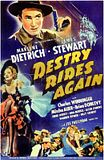 destry rides again 1939 poster